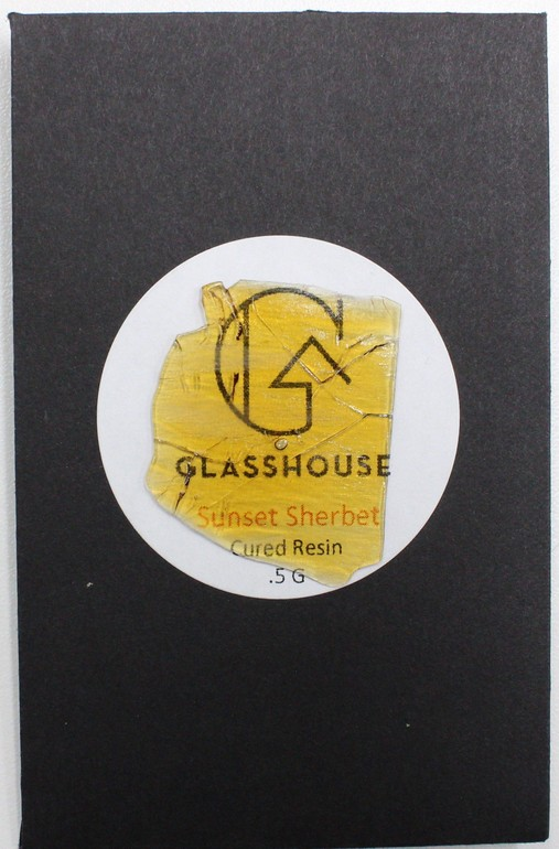 Glasshouse Cured Resin - Sunset Sherbet