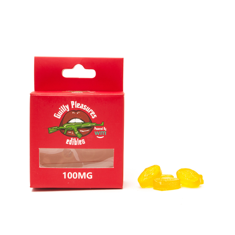 Pineapple Hard Candy 100mg