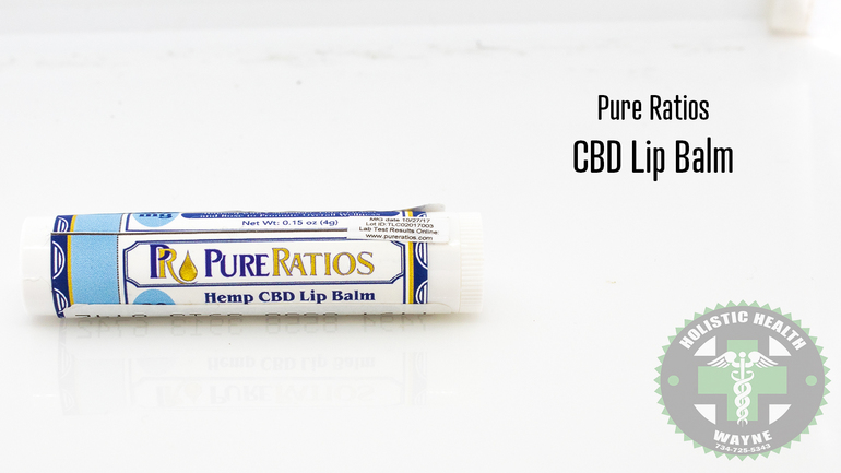 Cbd Lip Balm (pure Ratios)