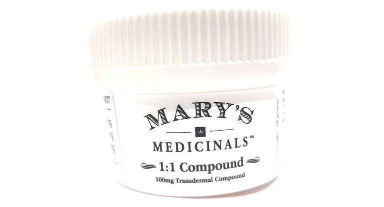 Mary's Medicinals 1:1 Transdermal Topical Compound