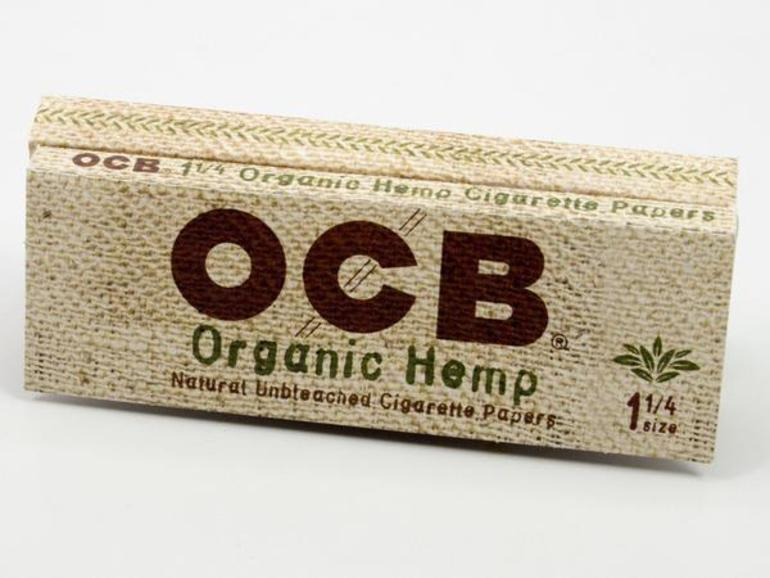 Ocb - Organic Hemp (papers And Tips)