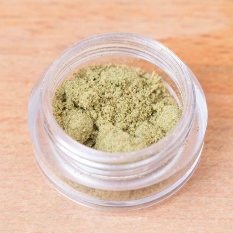 Alaska Gold Trim Kief By Herbal Instincts