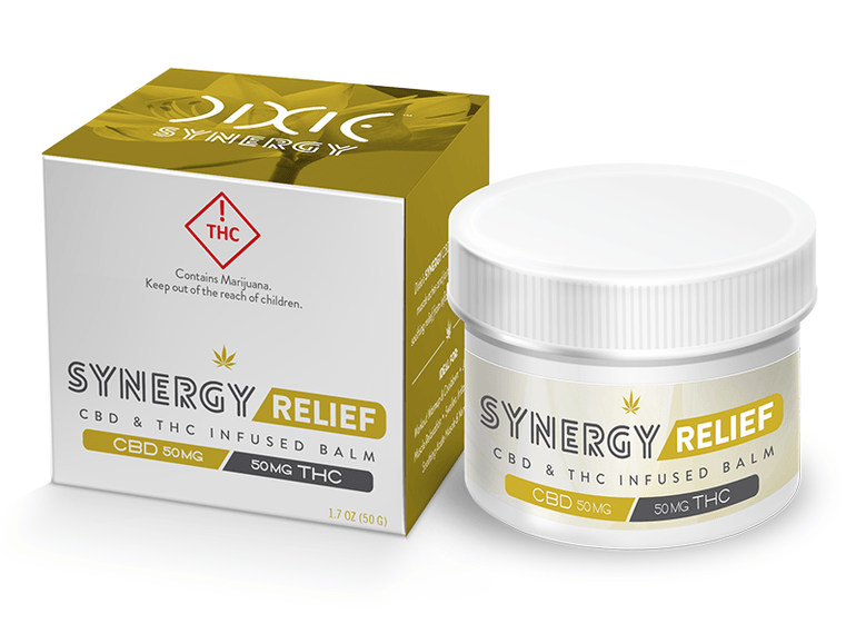 Synergy Relief Balm 1:1 100mg
