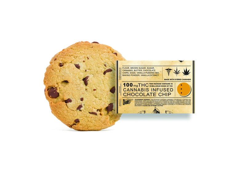 Chocolate Chip Cookie, 100mg