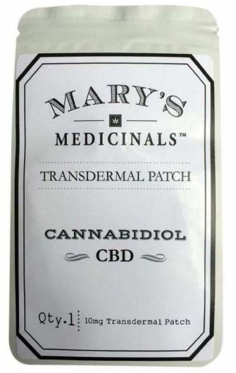 Cbd Transdermal Patch, 10mg - Rec