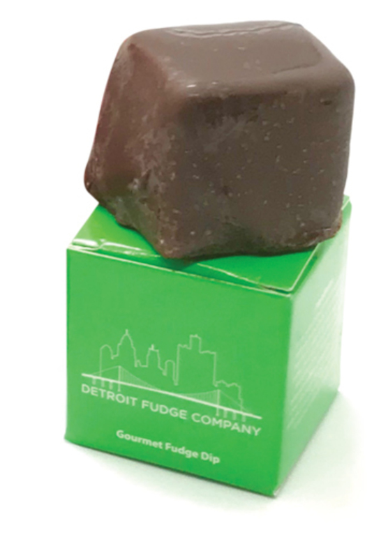 Detroit Fudge Company 50 Mg Chocolate Peanut Butter Fudge Dip