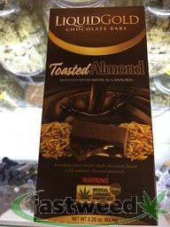 Liquid Gold Chocolate Bar - Toasted Almond
