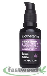 Apothecanna Sexy Time Personal Intimacy Oil 30ml
