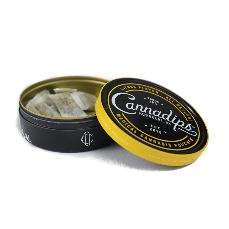 Looking for Cannadips Citrus Pouches (thc), 150mg Tin near Philadelphia, PA, 19099, US