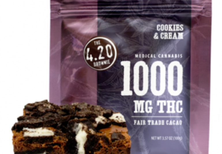 Looking for Cookies & Cream 4.20 Brownie – 1000mg Thc near Brooklyn, NY, USA