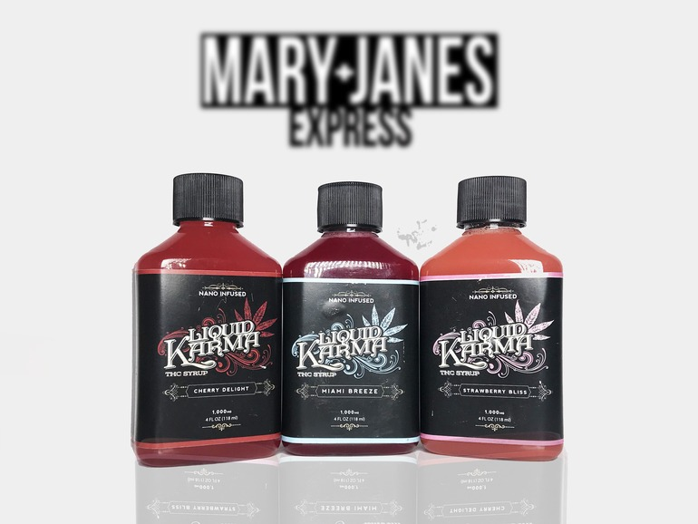 Looking for Liquid Karma Cherry Delight Thc Syrup Nano Infused 1000mg near Saline, MI, 48176, US