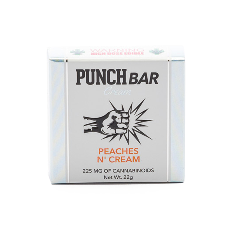 Looking for Punch Bar Peaches N\\\' Cream 225mg Edible near Hyattsville, MD, 20782, US